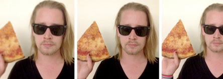 Macaulay Culkin | A pizza day